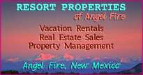 Resort Properties of Angel Fire, New Mexico, Vacation rentals, property management and Real Estate sales